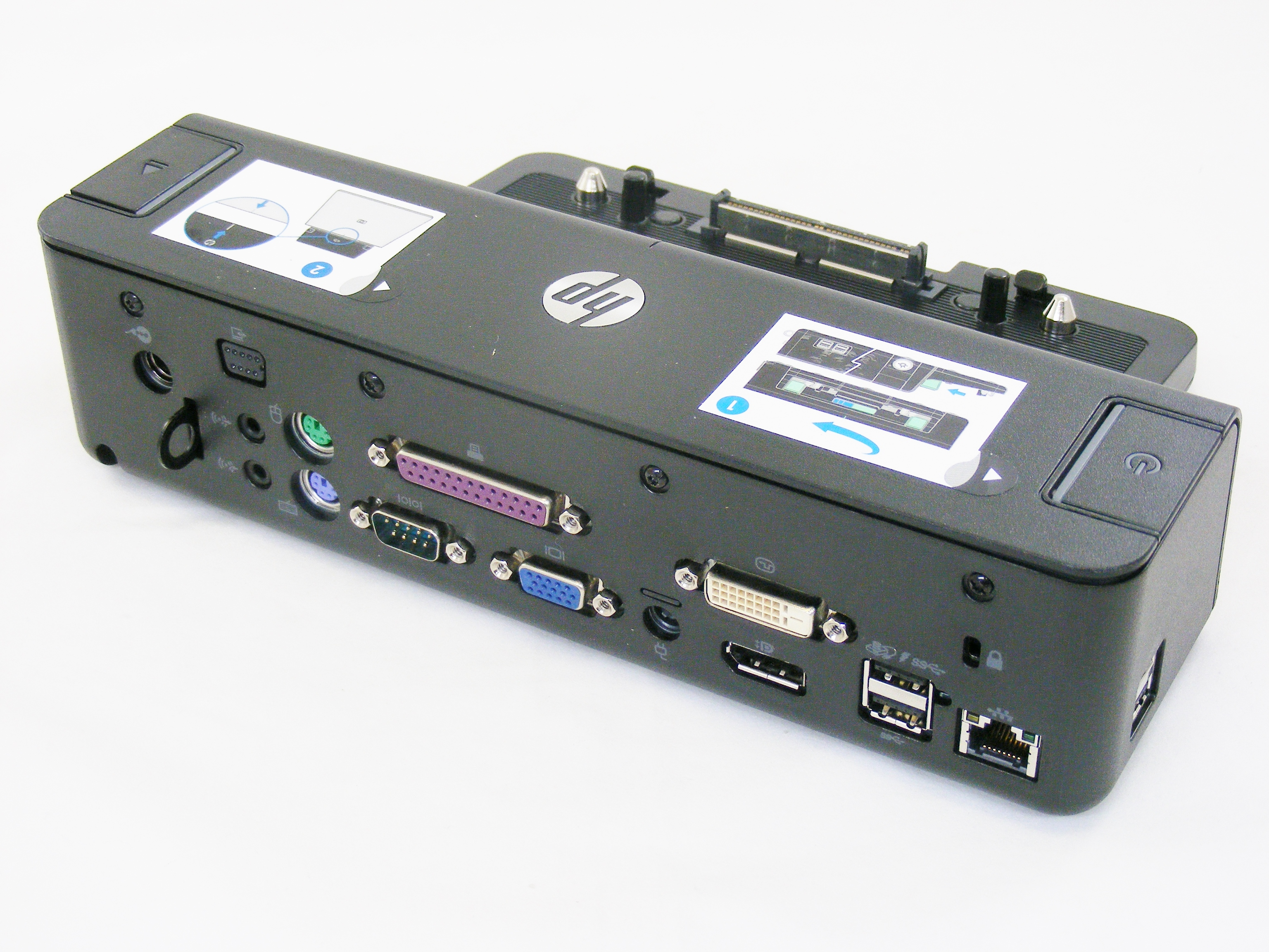 new hp elitebook 8530p 8530w 8770w usb 3 0 dock docking. Black Bedroom Furniture Sets. Home Design Ideas