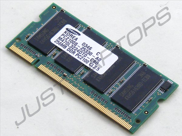 Samsung-256MB-PC2100-M470L3224DT0-CB0-DDR-266MHz-Laptop-RAM-Memory-Module