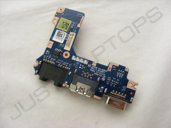 Dell Latitude E4200 eSATA VGA Display IO Audio Sound Board 0D537F D537F