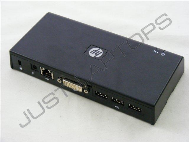 Hp Hstnn S02x Dvi Display Usb 2 0 Docking Station 497652 001 Ay052aa Dock Only Ebay