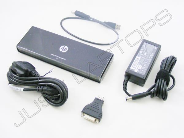 Details about HP EliteBook 840 G1 USB 2 0 Docking Station Port Replicator  w/ HDMI AC Adapter