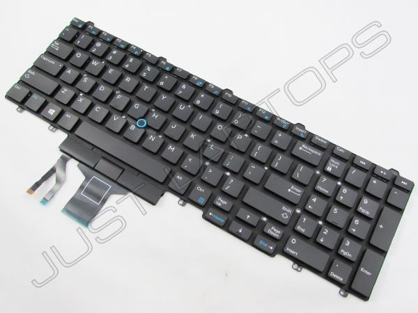 Original New for Dell Precision 3510 7510 7710 0N7CXW US Keyboard